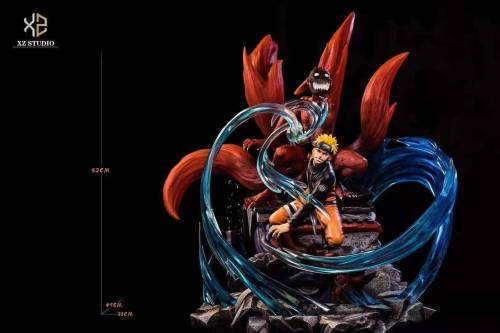 【Preorder】Xs Studios Naruto and Kurama Resin Statue's Postcard