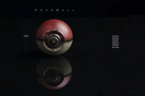 【Preorder】M-PARK Pokemon Poké Ball 1/1 Scale Statue's Postcard