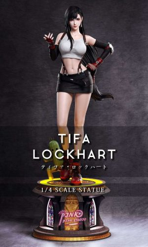 【In Stock】Pink Pink Studio FF7 Tifa Fighting Goddess resin statue