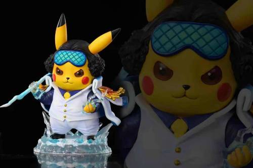 【Preorder】NEWBRA Studio Pokemon Pikachu cosplay One Piece Kuzan Resin Statue's Postcard