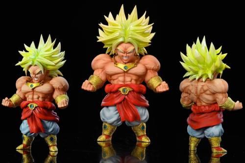 【Preorder】League Studio Dragon Ball Muscle Warrior Broli Resin Statue's Postcard