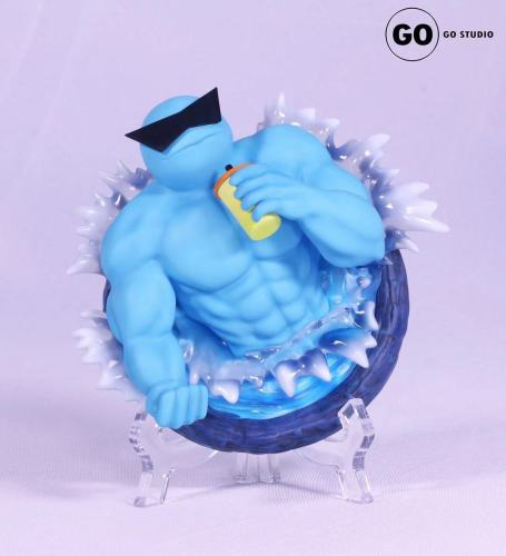 【Preorder】GO Studio Pokemon Muscle Men Tabletop Ornament Series Resin Statue's Postcard