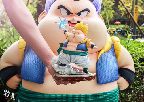 【Preorder】DIM Model Studio Dragon Ball Fat Gotenks 2.0 Resin Statue's Postcard