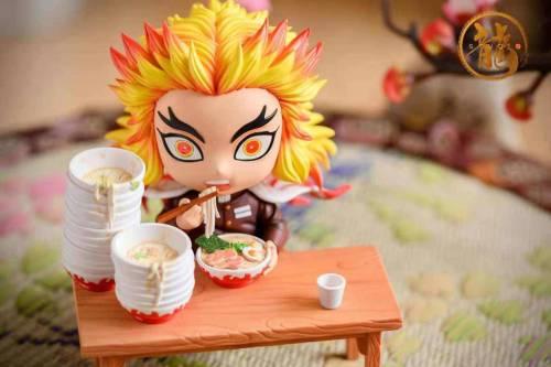 【Preorder】Dragon Studio Demon Slayer Foodie Rengoku Kyoujurou Resin Statue's Postcard