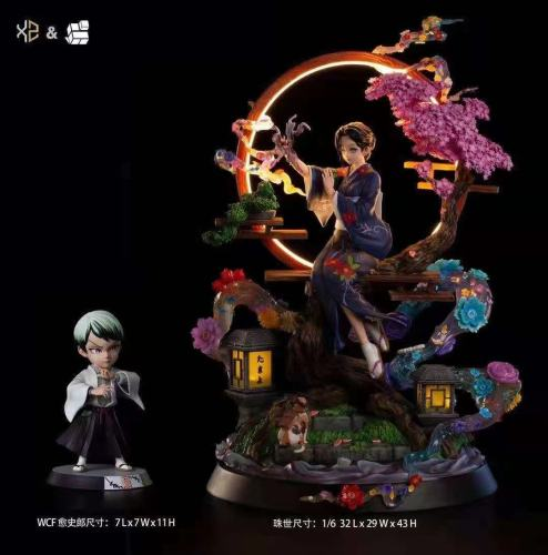 【Preorder】Magic Cube Studio x Xs Studios Demon Slayer Yushirou Resin Statue's Postcard