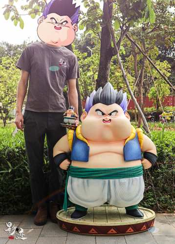【Preorder】DIM Model Studio Dragon Ball Fat Gotenks resin statue's postcard