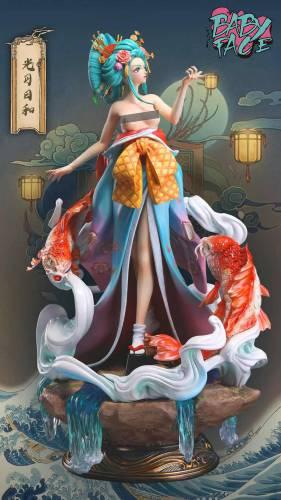 【Preorder】Baby Face Studio One Piece Kozuki Hiyori Resin Statue's Postcard