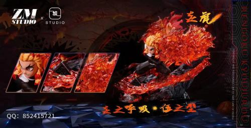 【Preorder】ZM Studiox x JIAYI Studio Demon Slayer Rengoku Kyoujurou Resin Statue's Postcard