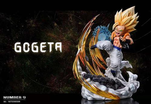 【Preorder】Number 9 Studio Dragon Ball Gogeta Resin Statue's Postcard