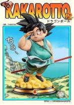 【Preorder】DP9 x CPXX Studio Dragon Ball Fat Goku Resin Statue's Postcard