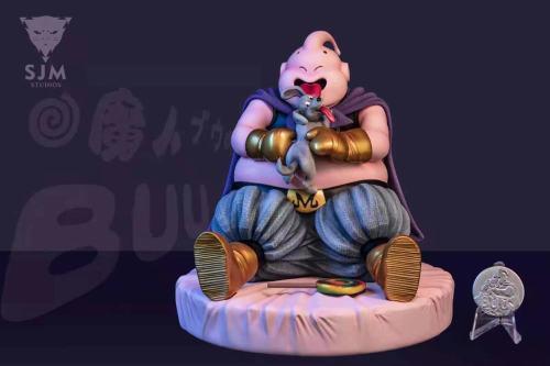 【Preorder】SJM Studio Dragon Ball Buu with His Dog Resin Statue's Postcard