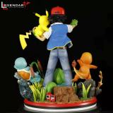 【Preorder】Legendary Collectibles Studio Pokemon Ash Ketchum with His Pokemon Resin Statue's Postcard