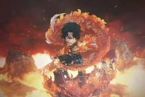 【Preorder】G5 Studio ONE PIECE Ace Fire Fist Resin Statue's Postcard