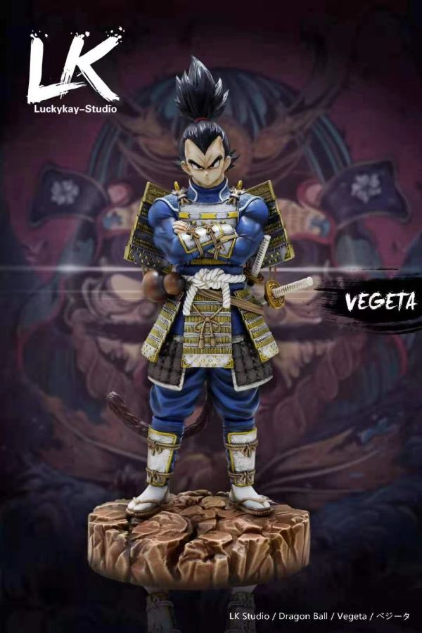 【Preorder】LK Studio Dragon Ball Warrior Vegeta Resin Statue's Postcard