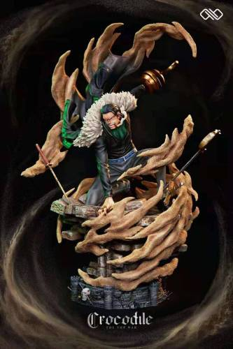 【Preorder】INIFINITE Studio One Piece Paramount War Series Sir Crocodile Resin Statue's Postcard