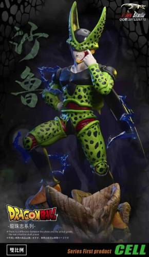 【Preorder】T-Rex Studio Dragon Ball Cell Game Resin Statue's Postcard