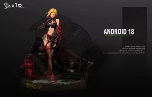【Preorder】ForceStudio&Turning Point Studio Dragon Ball Street Android 18 Resin Statue's Postcard