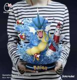 【Preorder】Egg Studio Pokemon Gyarados Resin Statue's Postcard