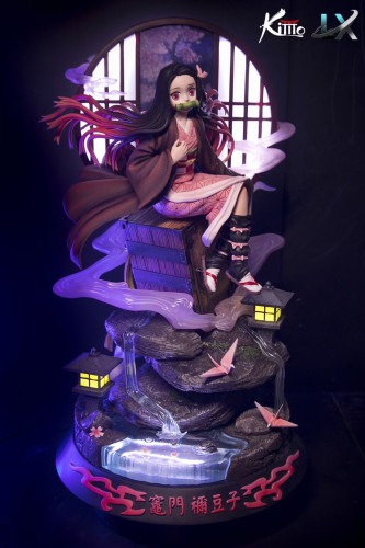 【Preorder】Kimo Studio x LX-Studio Demon Slayer Nezuko Resin Statue's Postcard