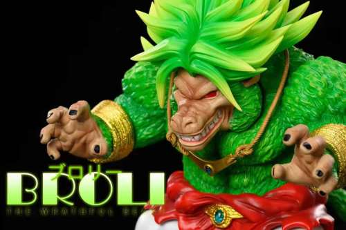 【Preorder】League Studio Dragon Ball Broli Big Ape Resin Statue's Postcard