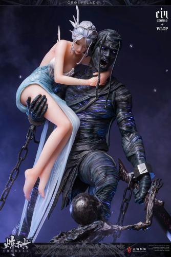 【Preorder】EinStudio x WLOP Ghos Blade Purgatory Resin Statue's Postcard