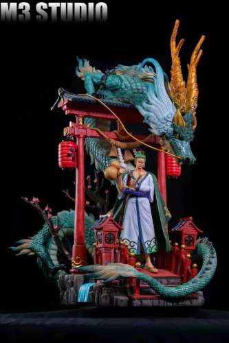 【Preorder】M3 Studio One Piece Zoro Resin Statue's Postcard