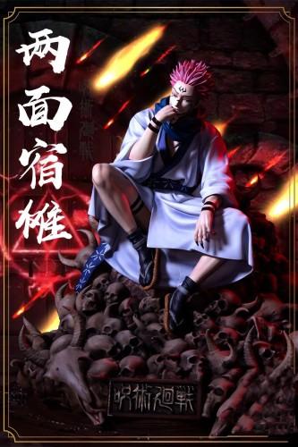 【Preorder】Yidianyuan Studio Jujutsu Kaisen Ryomen Sukuna Resin Statue's Postcard