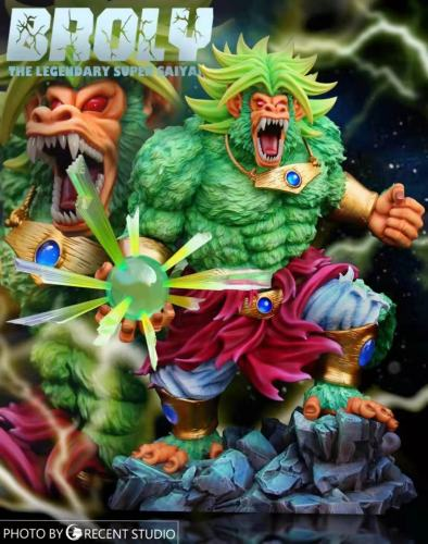 【Preorder】Crescent Studio Dragon Ball Broly Huge Ape Resin Statue's Postcard