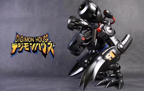 【Preorder】DIGIMON HOUSE Digimon Adventure Mugendramon Resin Statue's Postcard