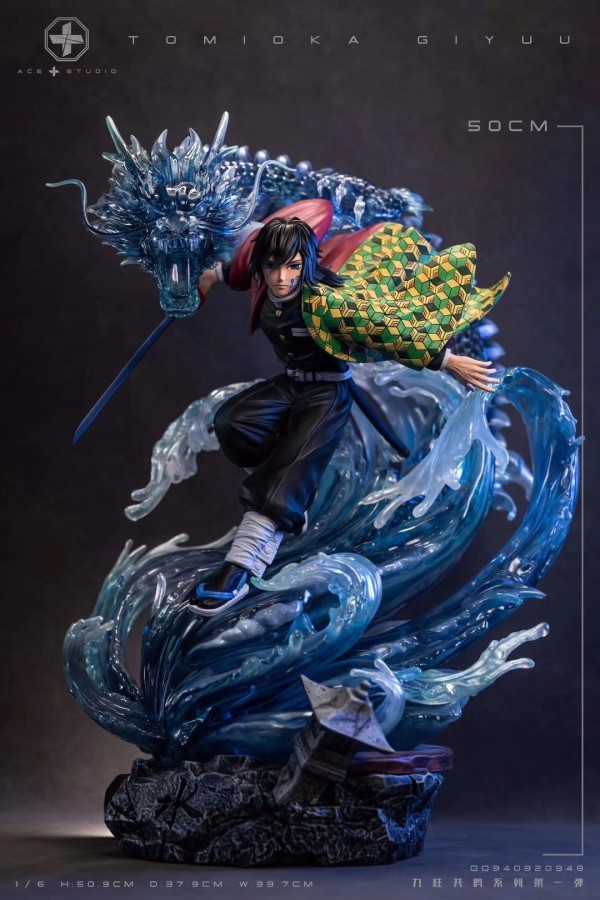 【Preorder】ACE&MKE Studio Demon Slayer Tomioka Giyuu Resin Statue's Postcard