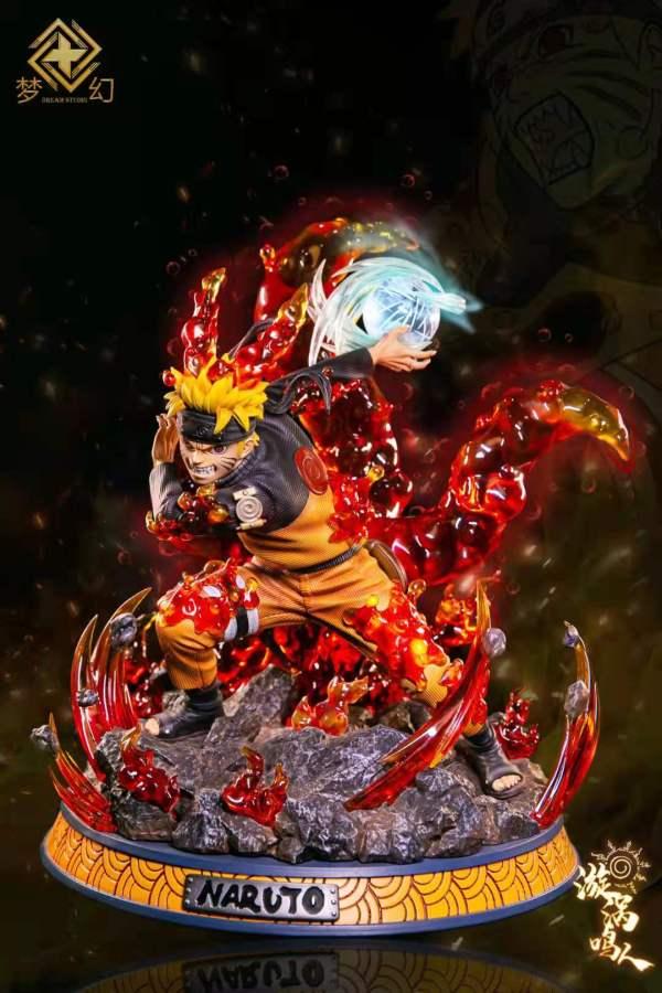 【Preorder】Dream Studio Naruto Uzumaki Naruto Resin Statue's Postcard