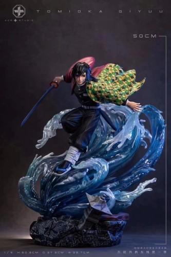 【Preorder】ACE&MKE Studio Demon Slayer Tomioka Giyuu Resin Statue's Postcard