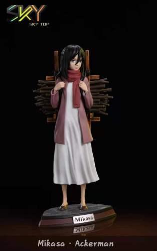 【Preorder】Sky Top Studio x Sex Studio Attack on Titan Kid Mikasa·Ackerman Resin Statue's Postcard