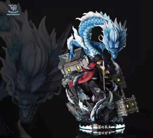 【Preorder】Whale Studio Demon Slayer Tomioka Giyuu Resin Statue's Postcard