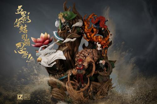 【Preorder】IZ Studio NARUTO Gokage Resonance Platform's Postcard
