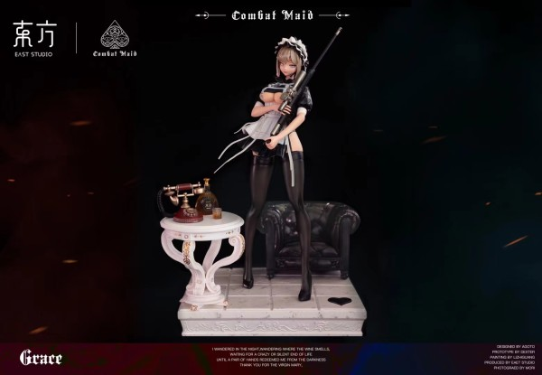 【Preorder】East-studio Combat Maid Grace Resin Statue's Postcard