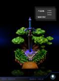 【Preorder】ILL Studio The Legend of Zelda Master Sword Resin Statue's Postcard