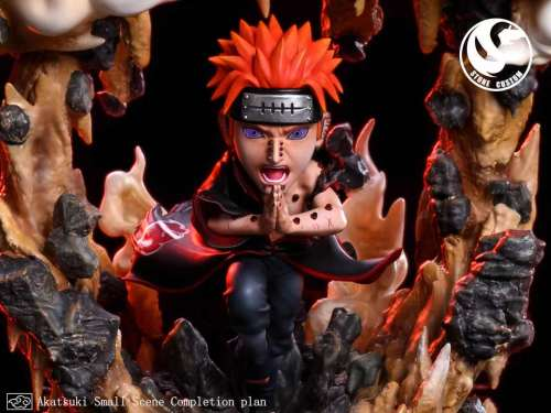 【Preorder】Stone Custom Naruto Pain&Konan Resin Statue's Postcard