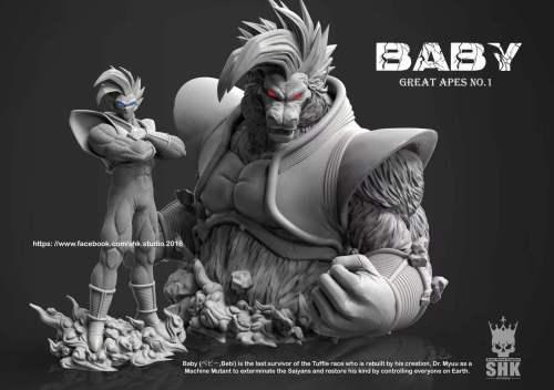 【Preorder】SHK Studio Dragon Ball Great Apes NO.1 Baby Resin Statue's Postcard