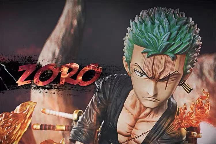 【Preorder】G5 Studio One Piece The Island Of Ghosts Zoro Resin Statue's Postcard