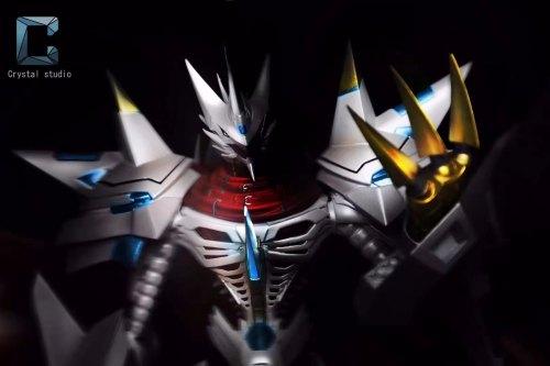【Preorder】Crystal Studio Digimon Adventure Jesmon Resin Statue's Postcard