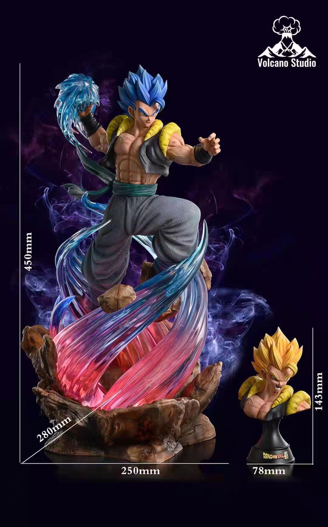 【Preorder】Volcano Studio Dragon Ball Super Battle Gogeta Resin Statue's Postcard