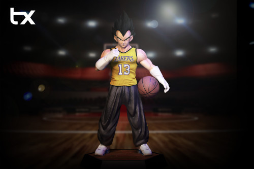 【Preorder】TX Studio Dragon Ball Basketball Series NO.5 Vegeta Resin Statue's Postcard