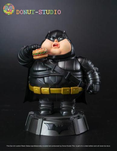 【Preorder】Donut-Studio DC Fatty Series Superman Wonder Woman Batman Resin Statue's Postcard