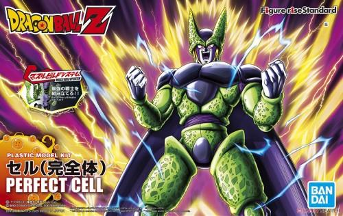 【Preorder】BANDAI Figure-rise Dragon Ball Prefect Cell PVC Figure's Postcard