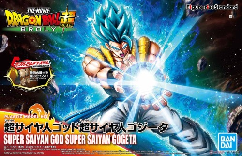【Preorder】BANDAI Figure-rise Dragon Ball Super Saiyan Gogeta PVC Figure's Postcard