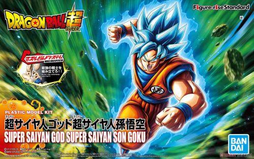 【Preorder】BANDAI Figure-rise Dragon Ball Super Saiyan Blue Hair Goku PVC Figure's Postcard