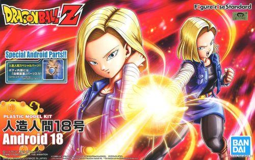 【Preorder】BANDAI Figure-rise Dragon Ball Android 18 PVC Figure's Postcard