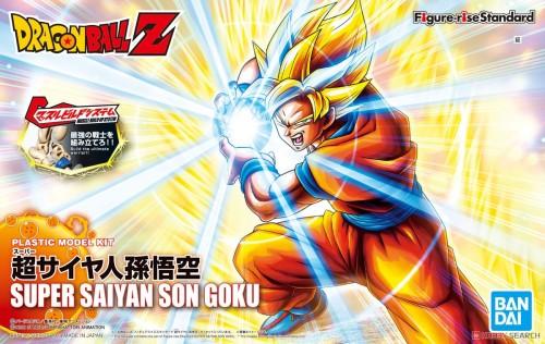 【Preorder】BANDAI Figure-rise Dragon Ball Super Saiyan Goku PVC Figure's Postcard