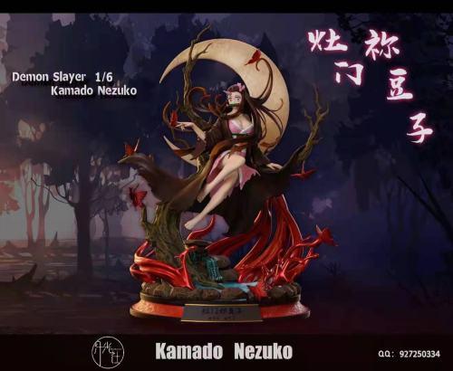 【Preorder】Moonlight Studio Demon Slayer Kamado Nezuko Resin Statue's Postcard